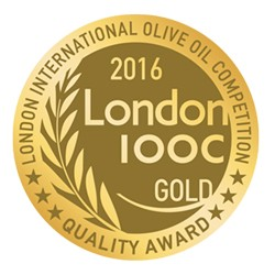 MEDALLA DE ORO LONDON INTERNATIONAL OLIVE OIL COMPETITION 2.016